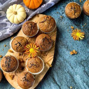 Pumpkin maple butter muffins