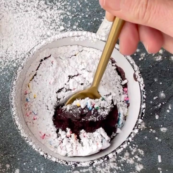 Traderjolenes Dreamy Chocolate Coconut Mug Cake